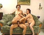 Two horny neighbors get some fresh cock