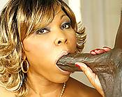 Black MILF Takes Cock In Her Hole