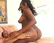 Beautiful Black Booty Girl Dicked Hard
