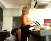 Porn superstar Alexis Texas stars as the really naked chef, but shes cooking up more than just a meal today! Fuck all those other cooking shows; have any of THEM every delivered you a visual morsel as tasty as Alexis incredible ass? I think not.. Alexis i